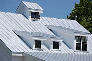 Maine metal roofing and sheet metal contractors Craftsman roofing