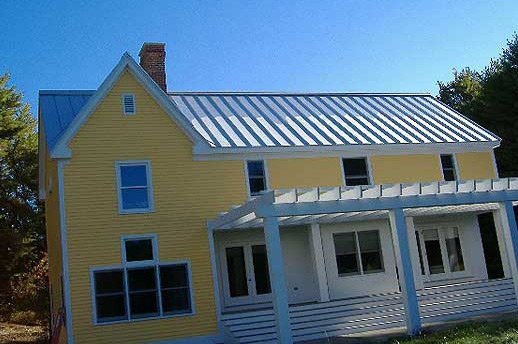 Standing Seam Metal Roofs by C O  Beck & Sons Roofing